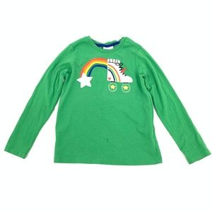 Hanna Andersson Size 130 8 Rollerskate T Shirt
